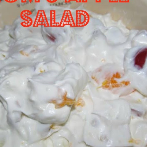 Mom's Apple Salad