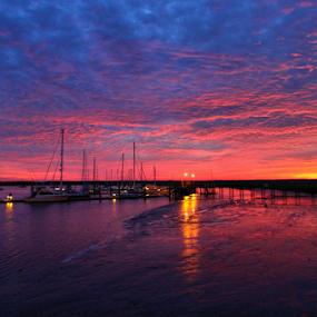 by Ivy Luna - Landscapes Sunsets & Sunrises ( #clouds, #coloful sunset, #sunset, #sun,  )