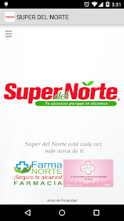 APP SUPER DEL NORTE - screenshot