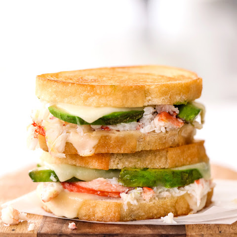 Crab and Avocado Grilled Cheese