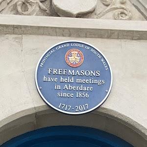 FREEMASONShave held meetingsin Aberdaresince 1856