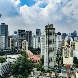Kuala Lumpur City by Hayder Ismael - City,  Street & Park  Street Scenes