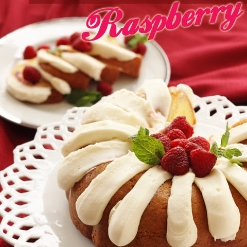 Our Version of Nothing Bundt Cakes' White Chocolate Raspberry Bundt Cake
