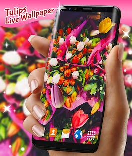 Free Tulips Live Wallpaper APK for Windows 8