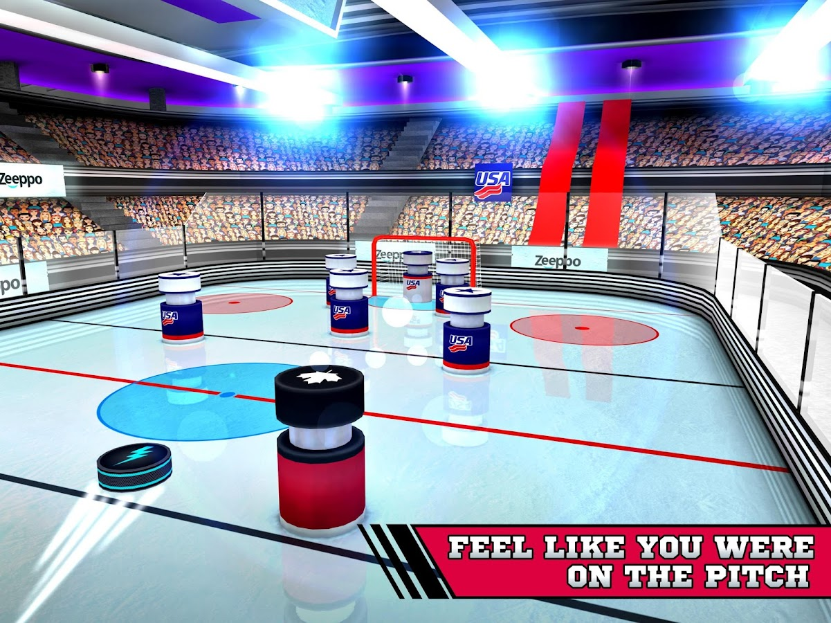Pin Hockey - Ice Arena Screenshot 6
