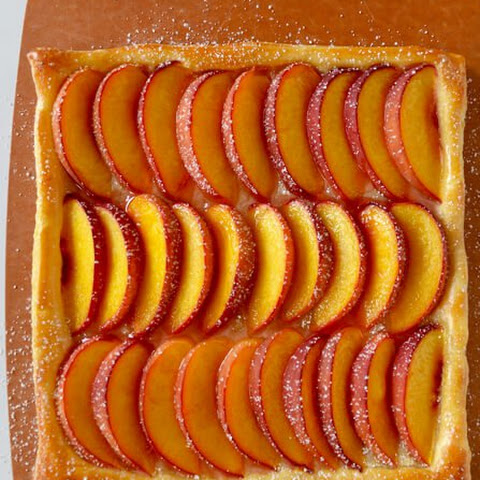 5-Ingredient Peach Tart