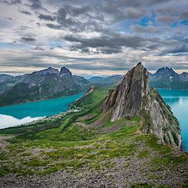 Segla, Senja, Norway by Terje Jorgensen - Landscapes Mountains & Hills