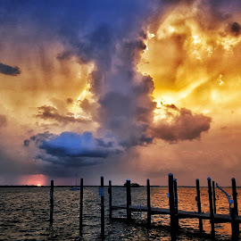 After the Storm by Michael Villecco - Landscapes Cloud Formations (  )