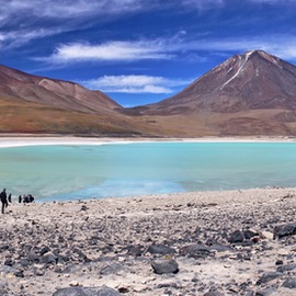 by Nico Kranenburg - Landscapes Travel ( water, mountains, green, south america, lake, bolivia, landscape,  )