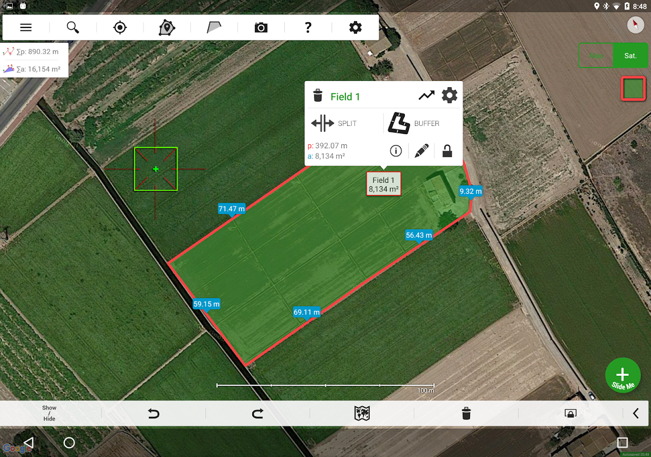 Agro Measure Map Pro Screenshot 1