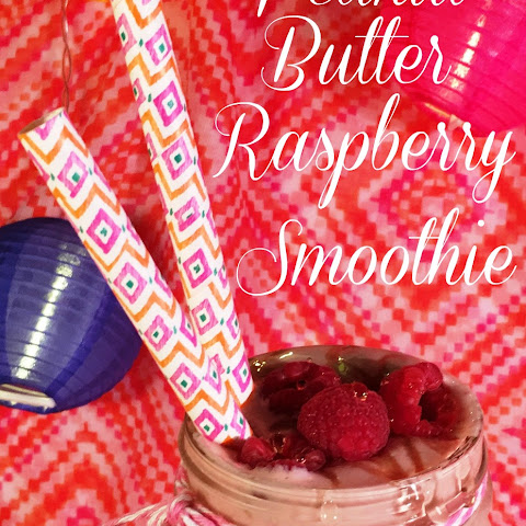 Peanut Butter Raspberry Smoothie