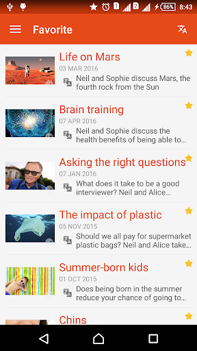 6 Minute BBC Learning English & English Listening screenshot 4