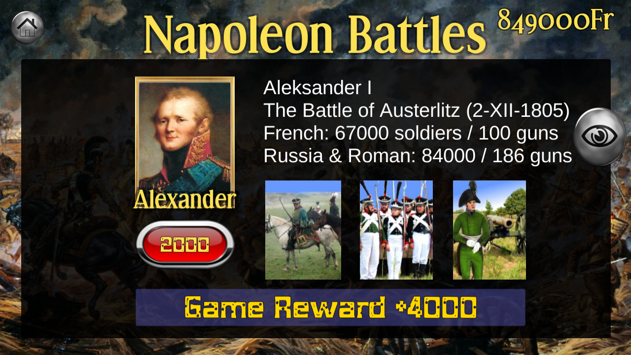 Napoleon War Cards Screenshot 14