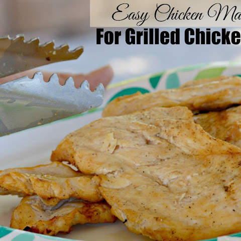 Easy Chicken Marinade For Grilled Chicken Tacos
