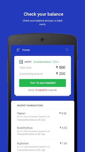 Way2Money - HakunaMatata Your money simplified . screenshot 4