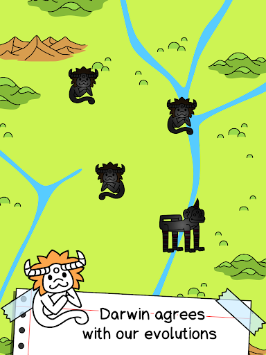 Monkey Evolution - Clicker - screenshot