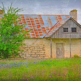 ----------Old Hill Country Home---------- by Neal Hatcher - Buildings & Architecture Homes