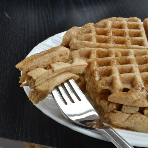 Earl Grey Almond Milk Waffles 3 servings
