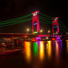ampera bridge by Maidi Irvan - Buildings & Architecture Bridges & Suspended Structures
