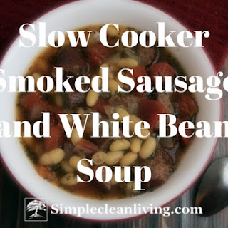 Smoked Sausage and White Bean Soup