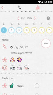 LoveCycles Period Tracker- screenshot thumbnail