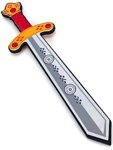 """Игровой набор """"Играем с папой"""", меч S, серый"""