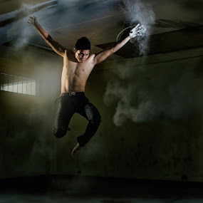 jump by Ron Alayon - People Portraits of Men