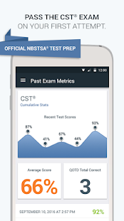 Official NBSTSA CST Exam Prep screenshot for Android