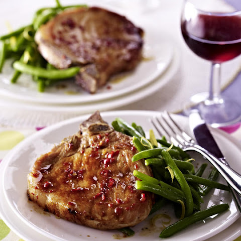 Asian-Style Pork Chops with Green Beans