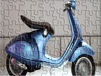 Motor Vespa Puzzle - screenshot