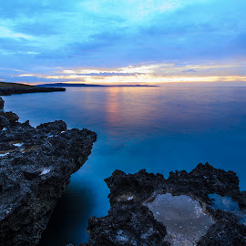 Blue Beach by Dandy Yunanto - Landscapes Beaches