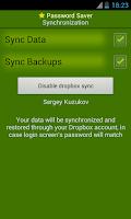 Screenshot of Password Saver