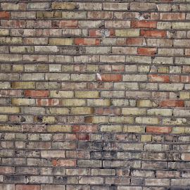 Brick Wall by Josh Hoehne - Buildings & Architecture Other Exteriors ( red, worn, old, decay, brick, wall )