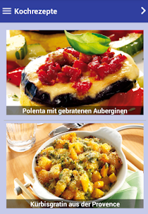 Kochrezepte - screenshot