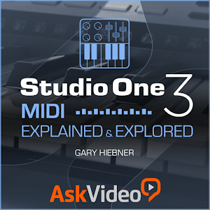 Cover art MIDI Course For Studio One 3