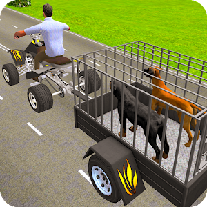 Pet Dog ATV Trolley Cargo Transport For PC / Windows 7/8/10 / Mac – Free Download