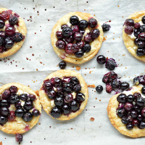 Roasted Berry Breakfast Tarts