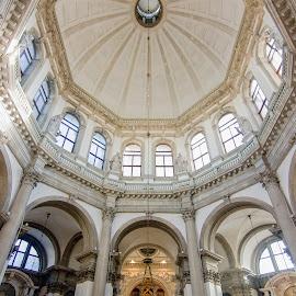 Basilica di Santa Maria della Salute by Jiri Cetkovsky - Buildings & Architecture Public & Historical ( salute, venezia, church, historical, basilica, italy )