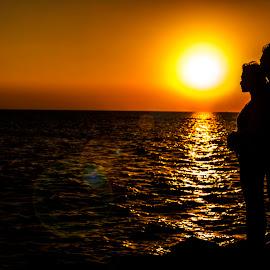 Sunrise Love by Aank Boiz - People Couples