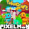 PixelMon mod: craft and cube 3d