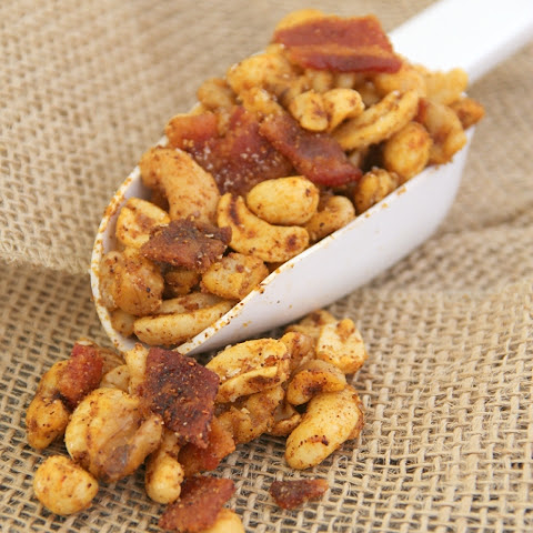 Spiced Bacon Nuts