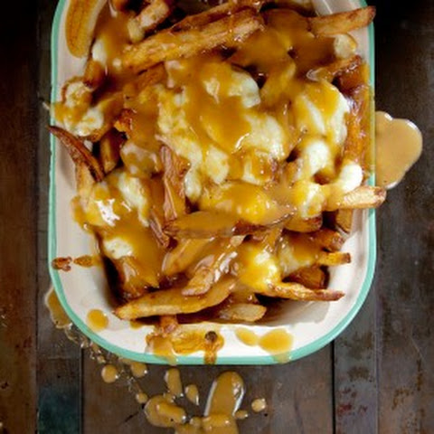 Poutine – French Fries with Gravy and Cheese Curds