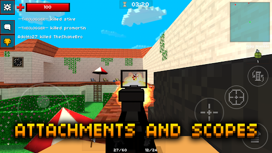 Game Pixel Strike 3D apk for kindle fire