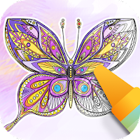 Butterflies coloring game For PC (Windows And Mac)