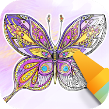 Butterflies coloring game