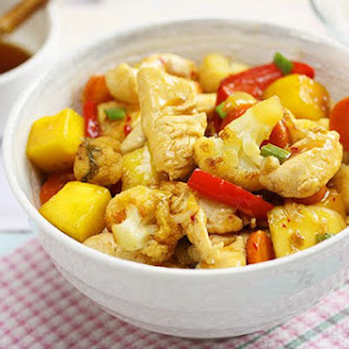 Mango Lime Chicken Stir Fry