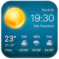 Free Local Weather Widget&Forecast APK for Windows 8