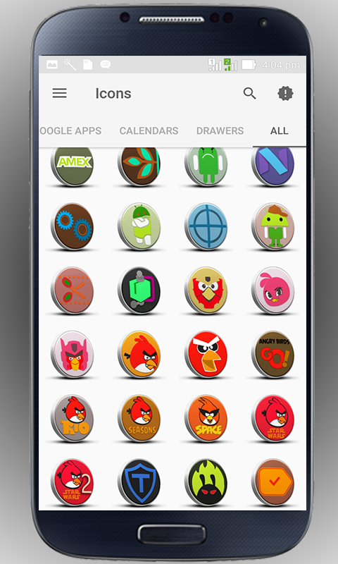 3D-3D - icon pack Screenshot 5