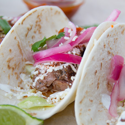 Filet Mignon Tacos {Cafe ML Copycat}