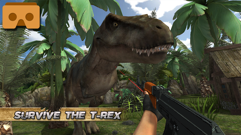 Jurassic Hunter Primal VR & TV Screenshot 1